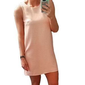 NEW The Final Touch Pink Keyhole Back Shift Dress